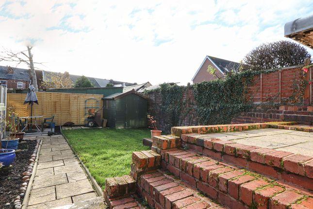Rear Garden of Old Road, Brampton, Chesterfield S40