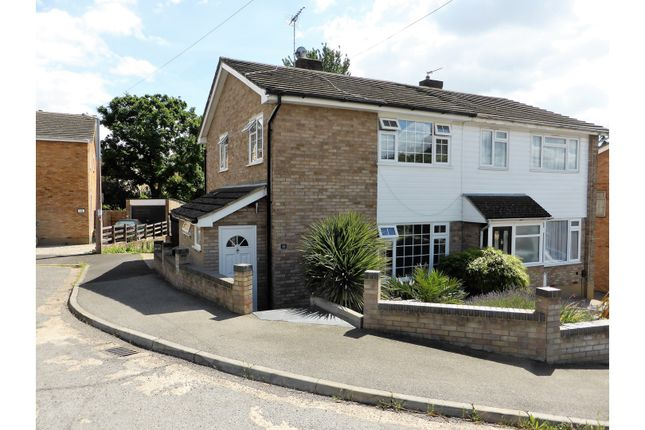 Thumbnail Semi-detached house for sale in The Rowlands, Benfleet