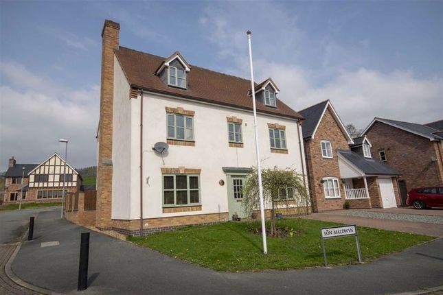 Thumbnail Detached house for sale in 1, Lon Maldwyn, Llansantffraid Ym, Powys