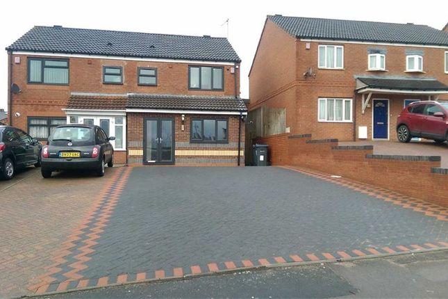Thumbnail Semi-detached house for sale in Hutton Road, Saltley, Birmingham