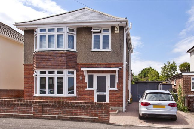 Thumbnail Detached house for sale in Hood Crescent, Bournemouth, Dorset