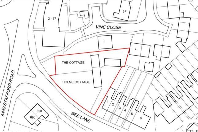 Thumbnail Land for sale in Bee Lane, Wolverhampton