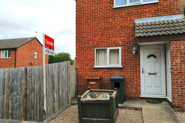 Thumbnail End terrace house for sale in Kestrel Road, Melton Mowbray