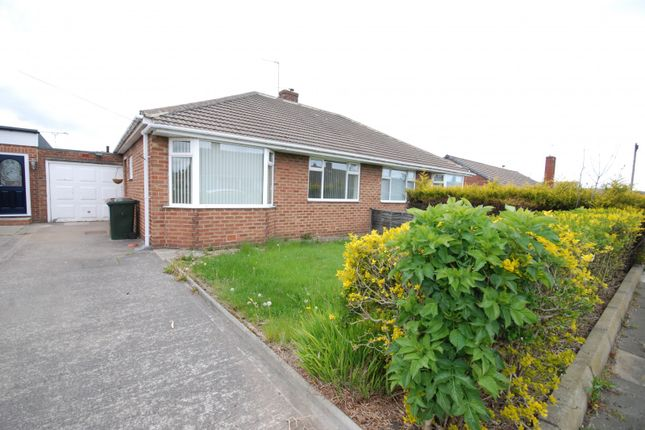 Thumbnail Bungalow to rent in Rayleigh Drive, Wideopen, Newcastle Upon Tyne