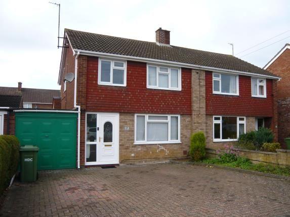 Thumbnail Semi-detached house for sale in Longsands Road, St. Neots, Cambridgeshire