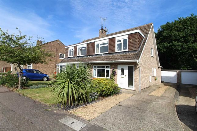 Thumbnail Semi-detached house for sale in Evergreen Drive, St. Johns, Colchester