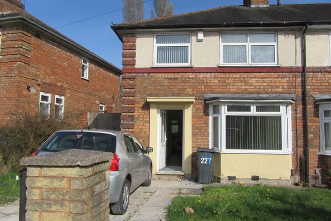 Thumbnail Shared accommodation to rent in Finchley Road, Kingstanding, Birmingham
