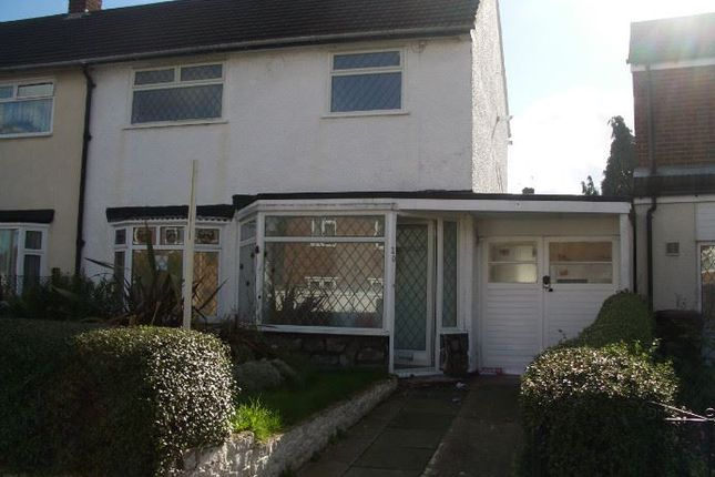 Thumbnail Semi-detached house to rent in Montgomery Road, Walsall