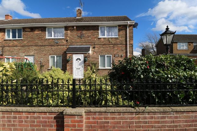 Thumbnail End terrace house for sale in Carrhouse Road, Belton, Doncaster