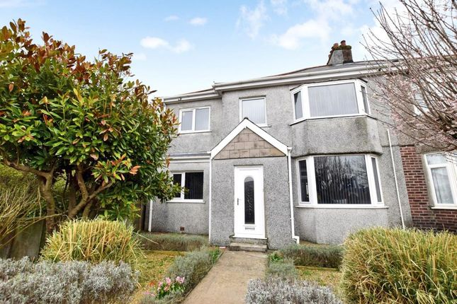 Thumbnail Semi-detached house for sale in Crownhill Road, Plymouth, Devon
