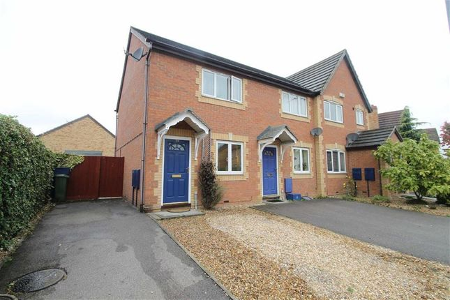 Thumbnail Semi-detached house to rent in Sorrell Drive, Newport Pagnell, Newport Pagnell