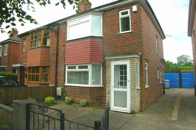 Thumbnail Semi-detached house to rent in Allison Avenue, Retford
