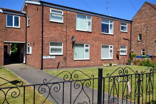 Thumbnail Flat for sale in Stones Mount, Cottingham, East Riding Of Yorkshire