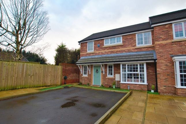 Thumbnail Semi-detached house for sale in Ford Farm Close, Lower Walton