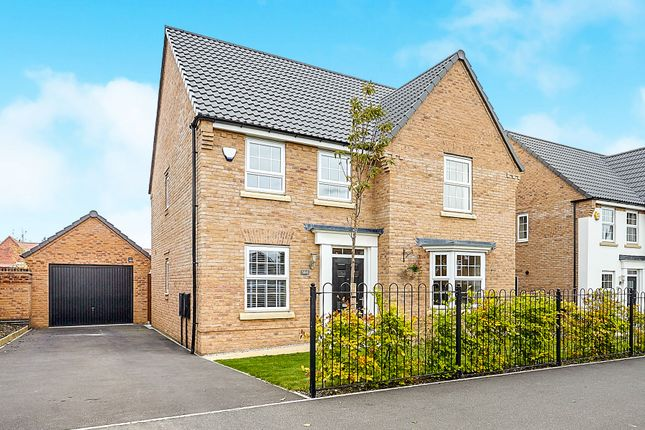 Thumbnail Detached house for sale in The Nurseries, Woodhall Way, Beverley