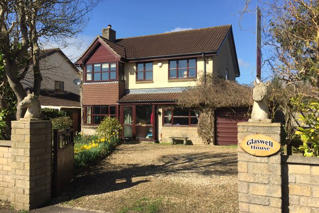 Thumbnail Detached house for sale in Coxley, Coxley, Wells