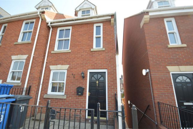 Thumbnail End terrace house for sale in Clarence Harbour Court, Carrow Road, Norwich