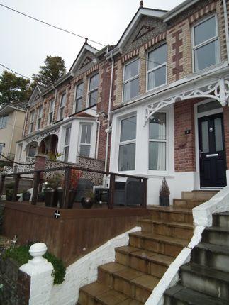 Thumbnail Terraced house for sale in Hillside Terrace, East Looe