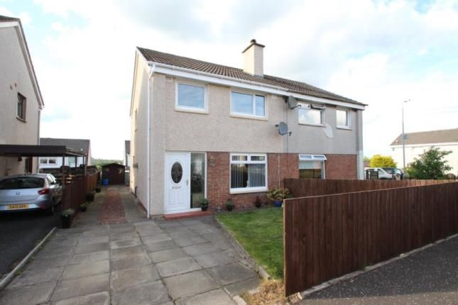 Thumbnail Semi-detached house for sale in Mainsacre Drive, Stonehouse, Larkhall, South Lanarkshire