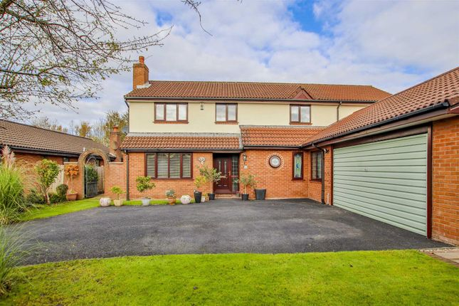 Thumbnail Detached house for sale in Gleneagles Drive, Fulwood, Preston