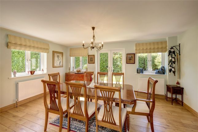 Dining Room of Satwell, Rotherfield Greys, Henley-On-Thames, Oxfordshire RG9