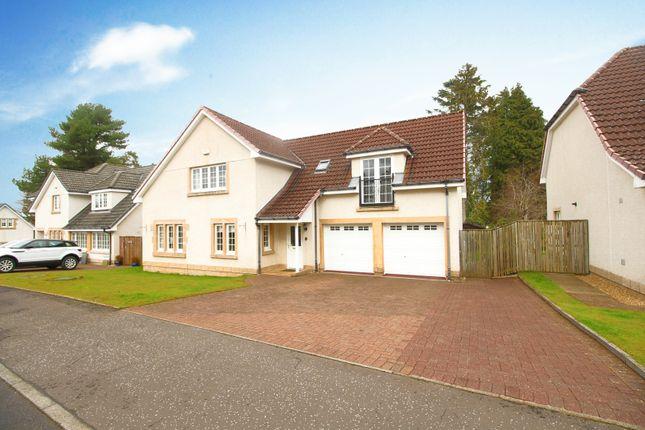 Thumbnail Detached house for sale in Bellefield Crescent, Lanark, Lanarkshire