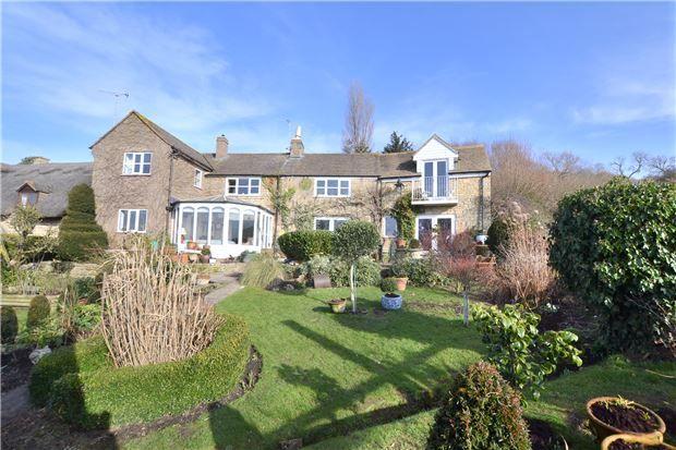 Thumbnail Cottage for sale in Bushcombe Lane, Woodmancote, Cheltenham, Gloucestershire