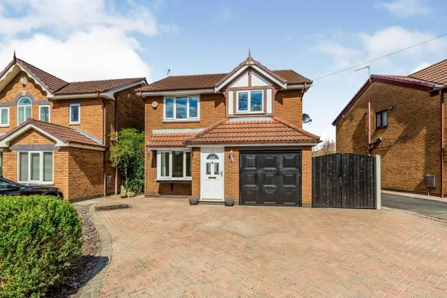 4 bed detached house for sale in Tytherington Drive, Reddish, Stockport, Greater Manchester M19