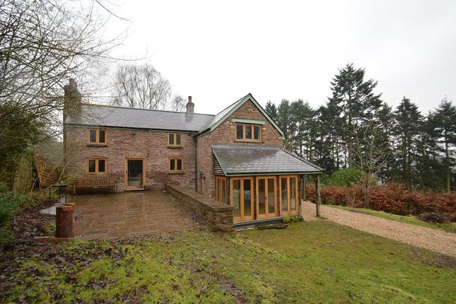 Thumbnail Detached house for sale in Bannut Tree Cottage, Garway Hill, Hereford.