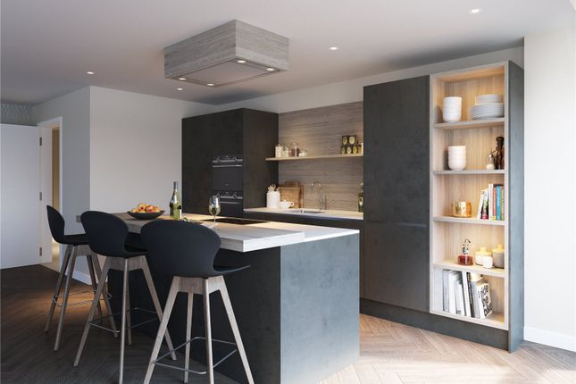 Thumbnail Flat for sale in Plot 1, - Square, Minerva Street, Glasgow