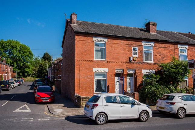 Thumbnail End terrace house to rent in Lansdowne Road, Monton, Manchester
