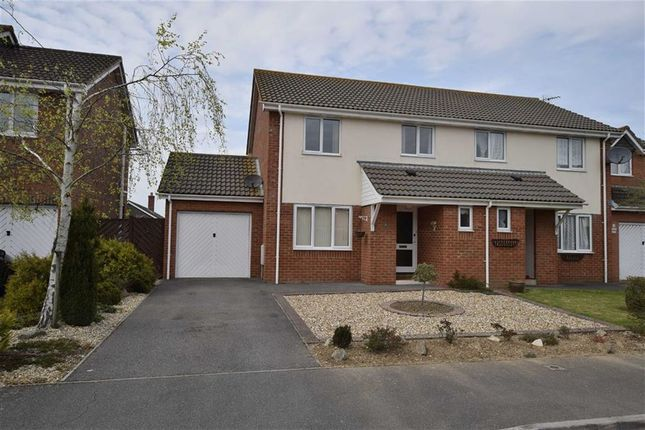 Thumbnail Semi-detached house to rent in Mallow Close, Highcliffe, Christchurch