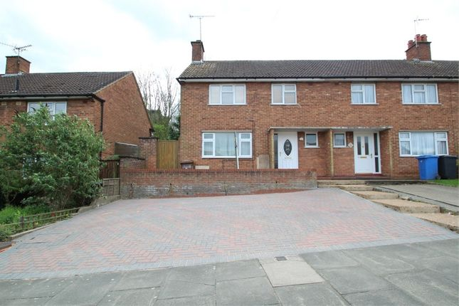 Thumbnail End terrace house for sale in Hawthorn Drive, Ipswich, Suffolk