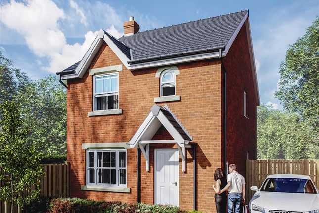 Thumbnail Detached house for sale in Plot 25 - Maes Helyg, Vicarage Road, Llangollen