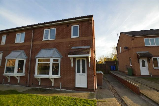 Thumbnail Semi-detached house to rent in Pickering Avenue, Hornsea, East Yorkshire