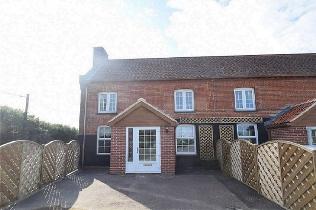 Thumbnail End terrace house for sale in Bury Road, Hepworth, Diss