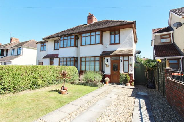 Thumbnail Semi-detached house for sale in Park Drive, Newport