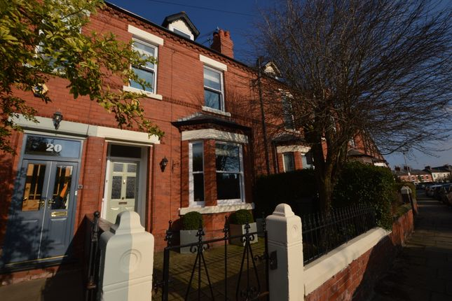 Thumbnail Terraced house to rent in Granville Road, Chester