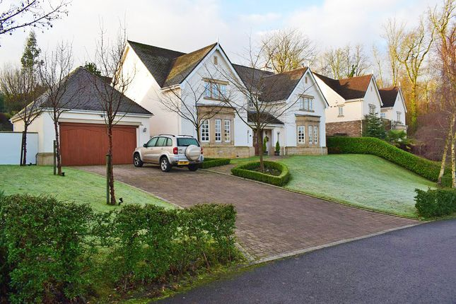 Thumbnail Detached house for sale in Cefn Mably Park, Cardiff