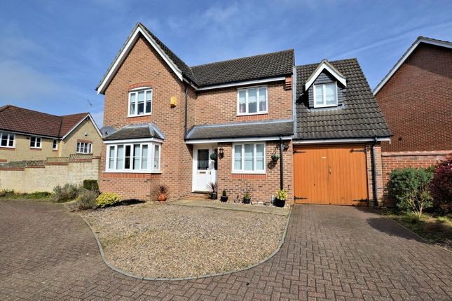 Thumbnail Detached house for sale in Mitchell Close, Scarning, Dereham