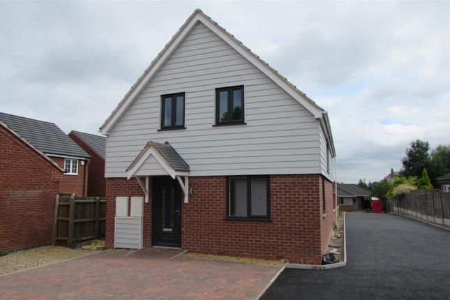 Thumbnail Detached house for sale in Fosse Close, Enderby, Leicester