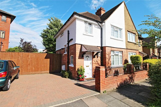 Thumbnail Semi-detached house for sale in Glebe Road, Stanmore