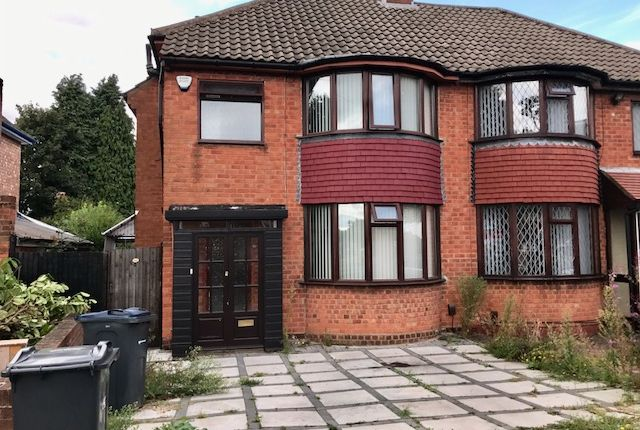 Thumbnail Semi-detached house to rent in Hodge Hill Road, Hodge Hill, Birmingham