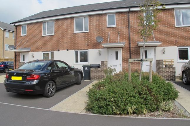 Thumbnail Terraced house to rent in Lindbergh Close, Gosport