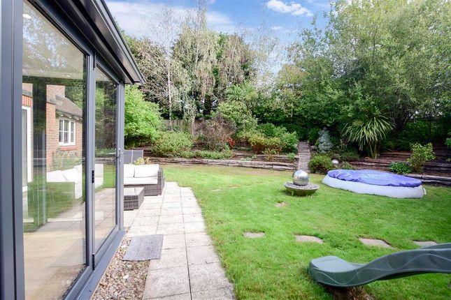 Rear Garden of Cricketers Close, Ashington, West Sussex RH20