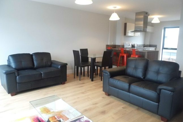 Thumbnail Town house to rent in The Point, Navigation Road, New Islington