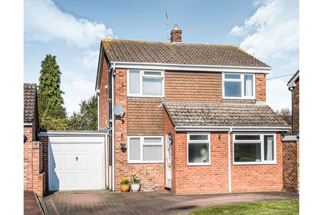 Thumbnail Link-detached house for sale in Wordsworth Close, Lichfield