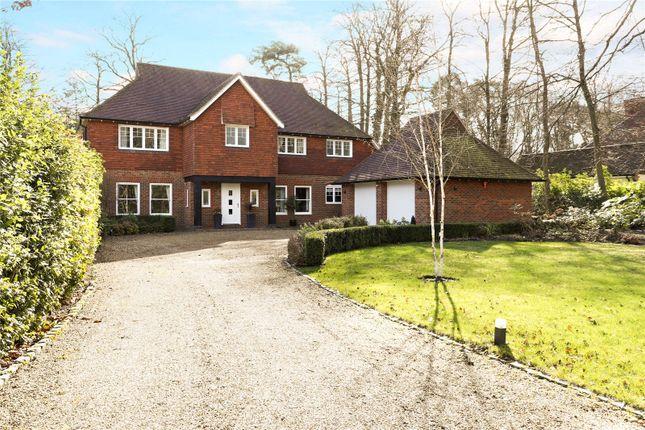 Thumbnail Detached house for sale in Waverley Avenue, Fleet, Hampshire