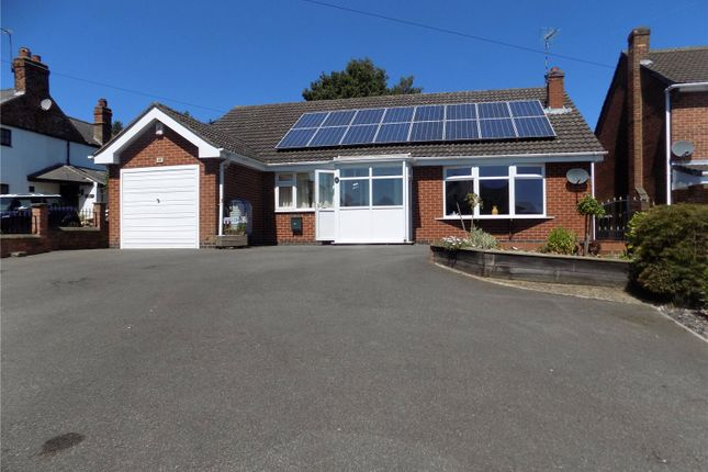 Thumbnail Detached bungalow for sale in Breach Road, Heanor, Derbyshire