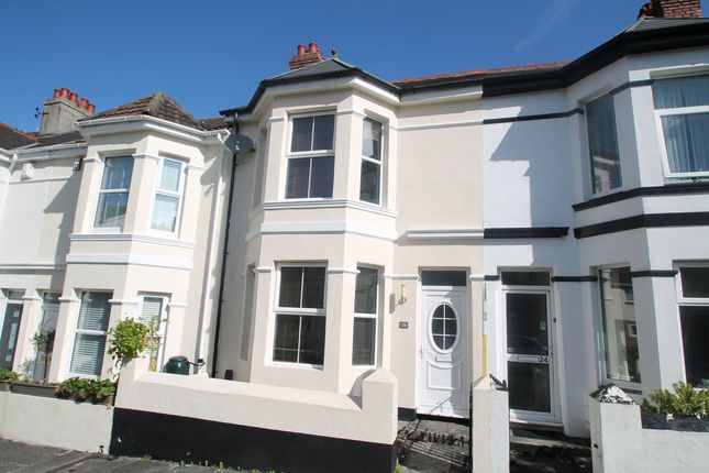 Thumbnail Terraced house for sale in Rowden Street, Peverell, Plymouth